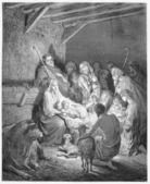 The Nativity — Stock Photo