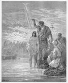 Chrzest jezusa — Zdjęcie stockowe