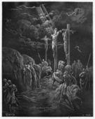 Po śmierci Jezusa — Zdjęcie stockowe