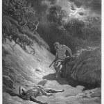 Постер, плакат: The death of Abel