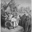 Joseph is sold Into slavery by his brothers — Stock Photo #10132202