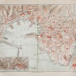 Vintage map of Geneva - Zdjcie stockowe