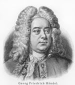 Georg Friedrich Handel — Stock Photo