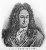 Gottfried Leibniz — Stock Photo