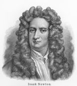 Isaac Newton — Stock Photo