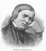 Robert Schumann — Stock Photo