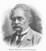 Werner von Siemens — Stock Photo