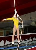 Female Acrobat — Stock Photo