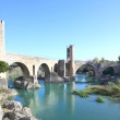 Stock Photo: Old bridge (Besalú, girona, spain)