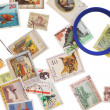 Collection stamp - Stock Photo