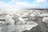 Icebergs (Vatnajökull glacier, Iceland) — Stok fotoğraf