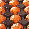 Royalty-Free Stock Photo: Orange chocolate in box