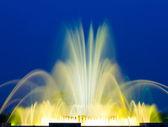 Beautiful Colorful Musical Fountain — Stock Photo