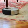 Robot vacuum cleaner — Stock Photo