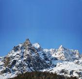 Alpenpanorama met kopie ruimte — Stockfoto