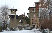 Medieval castle in Valentino Park, Turin — Stock Photo
