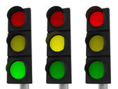 LED Traffic Light — Stock Photo