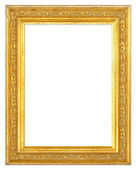 Wooden Gilt Picture Frame — Stock Photo