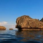Stones in sea — Stock Photo