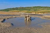Lera vulkaner i buzau, rumänien — Stockfoto