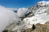 Mont Blanc - l'Aiguille du Midi — Stockfoto
