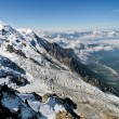 Mont Blanc - l'Aiguille du Midi — Stock Photo #8025420