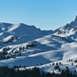 Mountain top in winter — Stock Photo #8025424