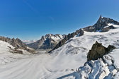 Mont Blanc - l'Aiguille du Midi — Stock Photo