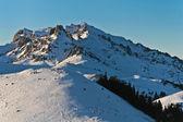 Berg vinterlandskap — Stockfoto