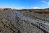 Mud Volcanoes in Buzau, Romania — Stock Photo