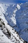 Winter mountain landscape — Стоковое фото