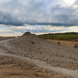 Mud volcanoes in Buzau, Romania — Stock Photo #8421644