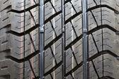 Car tyre — Stock Photo