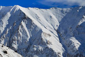 Paisagem de montanha do inverno — Foto Stock