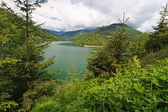 Mountain lake — Foto Stock