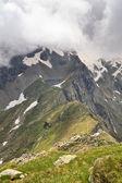 Un lago di montagna — Foto Stock