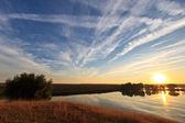 Lago del amanecer — Foto de Stock