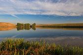 See und wolken — Stockfoto