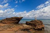 Vromi Porto beach in Zakynthos, Greece — Stock Photo