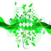 Frame green — Stock Vector