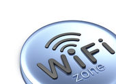 WiFi zone. 3D concept — Stock Photo
