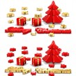 Stock Photo: Christmas Greeting Cards