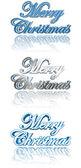 Christmas wenskaart elementen — Stockfoto