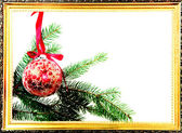 Frame of christmas — Stock Photo
