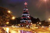 Christmas tree 2011são Paulo Brazil — Stock Photo