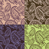 Paisley seamless pattern — Stock Vector