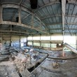 Abandoned factory panoramic interior — Stock Photo #10667715