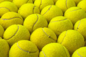 Tennis balls pattern — Stock Photo