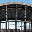 Panoramic abandoned construction - Stock Photo