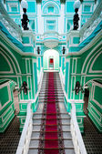 Enterance in russian palace — Stock Photo